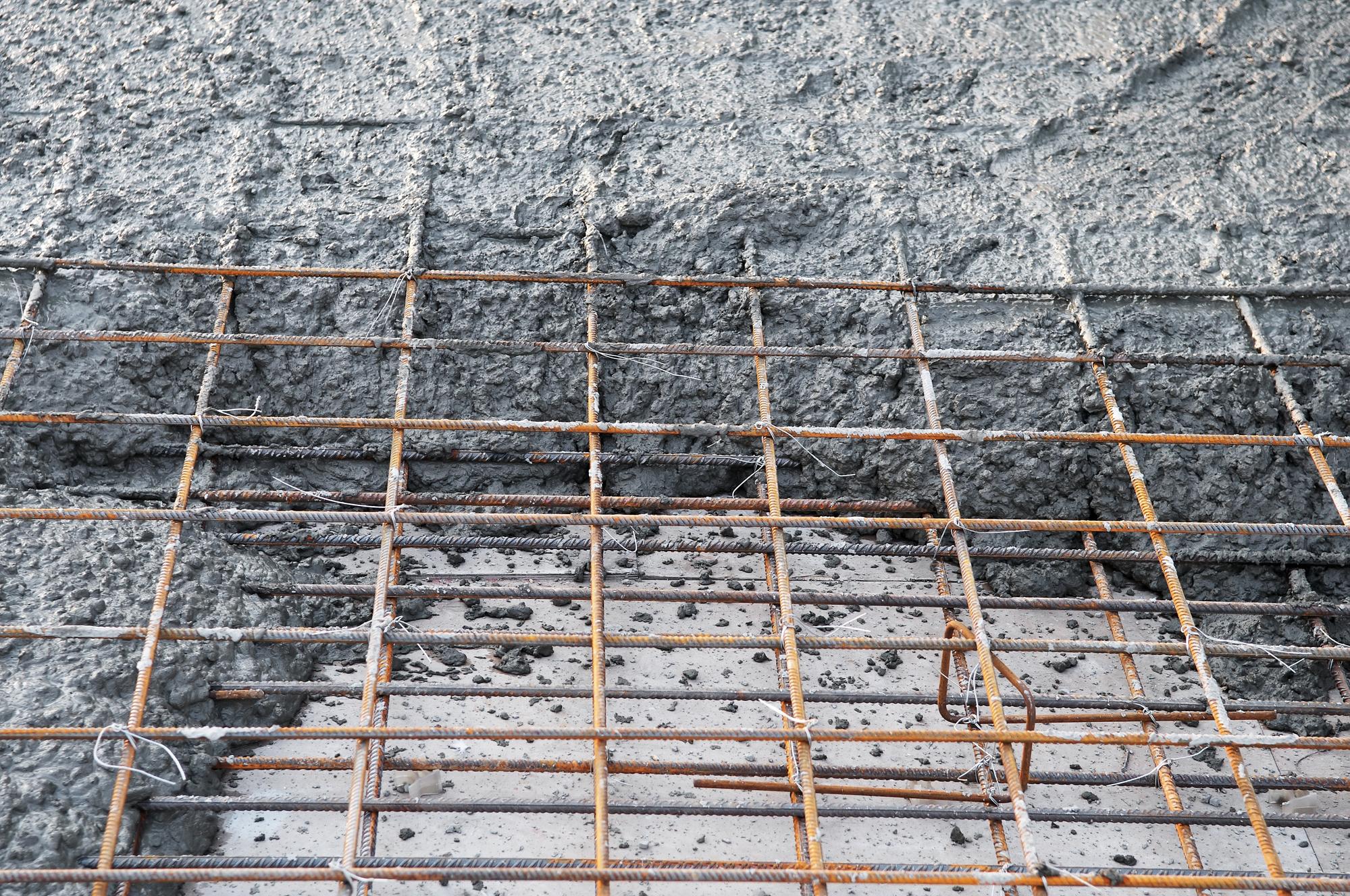 standard depth of concrete slab